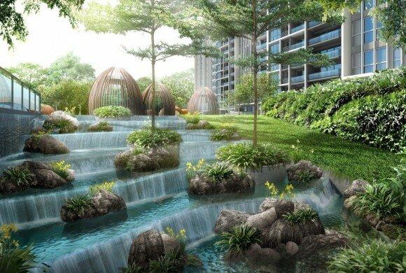 Bartley Condominium Garden