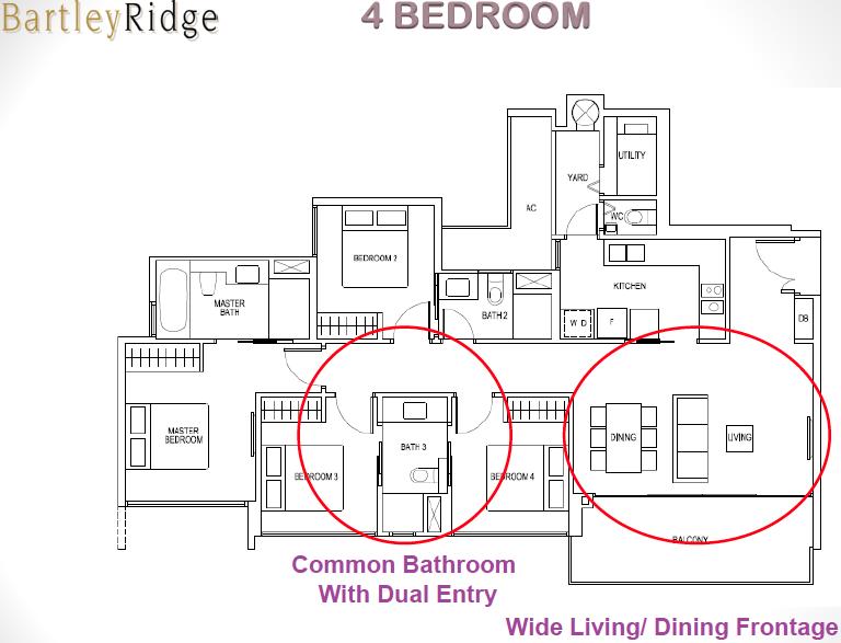 Bartley Ridge Floor Plan 4 Bedroom