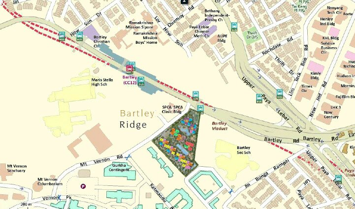 Bartley Ridge Location Plan